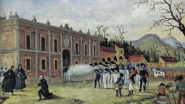 Fusilamiento de Morelos.